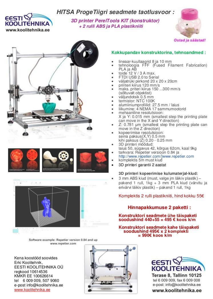 3D printer PerelTools